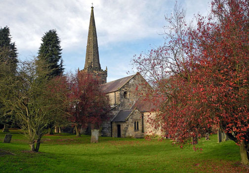 Huggate Church/Photo by Arnold Underwood/Nov 2013