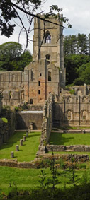 Fountains Abbey/from a photo by Arnold Underwood/Aug 2016
