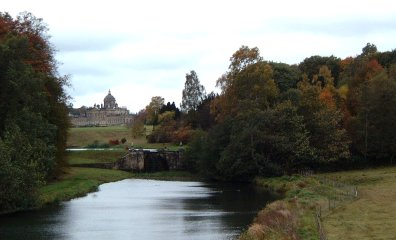 A view of the Great House from New River Bridge/photo by Arnold Underwood/Oct 2003