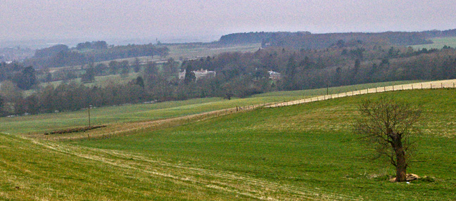 Kilnwick Percy Hall on the edge of the Wolds/photo by Arnold Underwood,April 2008