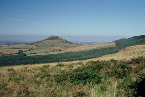 Roseberry Topping from above Gribdale/photo by Arnold Underwood/Sept 2003