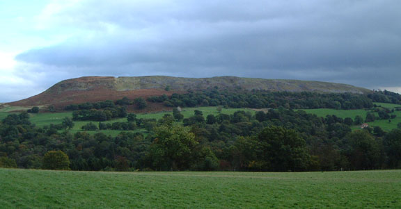 Hawnby Hill as seen from near Mount Pleasant farm/photo © Arnold Underwood/Oct 2006