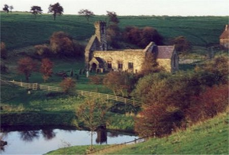 Wharram Percy/Photo by Arnold Underwood
